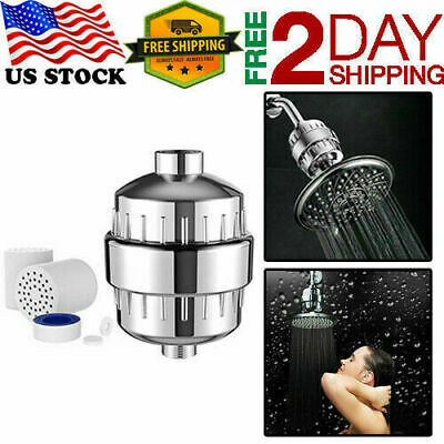 Aqua AquaBliss High Output Shower Filter with Replaceable Multi Stage Cartridge (Shower With Filter)