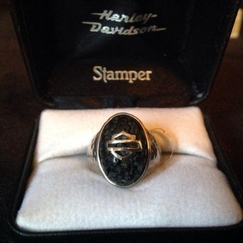 Harley davidson jewelry ring ebay for Harley davidson jewelry ebay