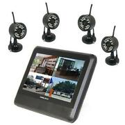 Wireless Home Security Camera System with DVR