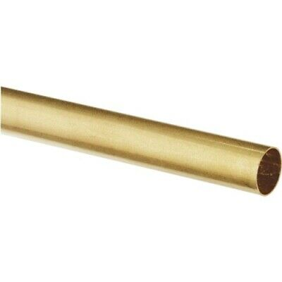 Ks Metal Round Tube 932 D X 12 L Brass Carded