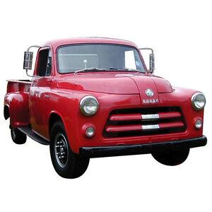 Cab WeatherStrip Set for 1954-1956 Dodge C-Series Trucks