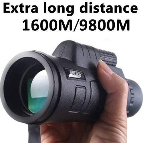 40x60 Vision Nocturne Poche Chasse Monoculaire Jumelles Tél