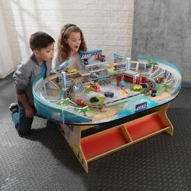 Disney Cars 3 kidkraft wooden table as new