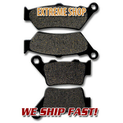BMW F+R Brake Pads G650 XChallenge XCountry (07-09) G650 GS (09-16) F650 (93-12)