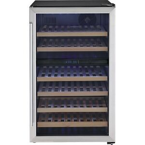 NEW MAJOR BRAND Free Standing Wine Cooler DWC1132BLSDB 38 BOTTLE
