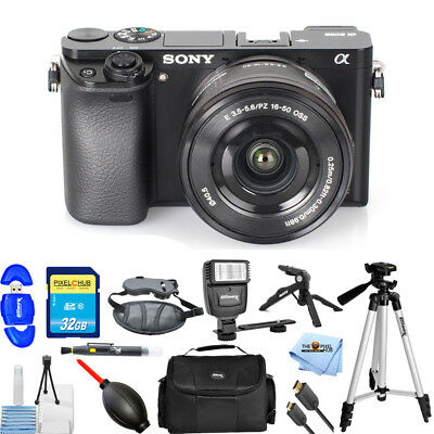 Sony Alpha a6000 Mirrorless Digital Camera W/ 16-50mm!! PRO KIT Brand New Digital Camera Pro Kit