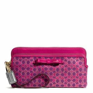 Coach Pink Poppy Wallet