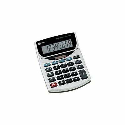 Innovera Mini Desk Calculator - 8 Characters - Lcd - Solar Battery 15925