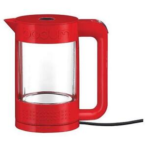 Bodum Bistro Electric Kettle - 1.1L - Red