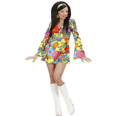 FLOWER POWER GIRL 42/44 (L) Damen Kostüm Hippie Girl  60er 70er Jahre (Power Girl Kostüme)