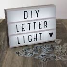 Letters Letter Box Decorative Light Boxes