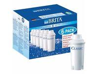 Brita Classic Water Filter Cartridges - Pack of 6