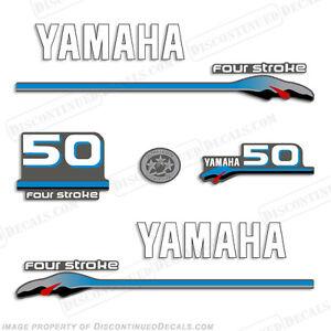 Yamaha 50hp fourstroke outboard motor decal kit 4 stroke for 2004 yamaha 15 hp 4 stroke