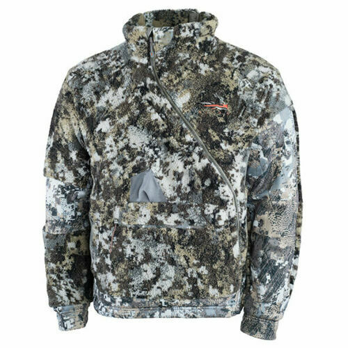 Sitka Fanatic Jacket Optifade Elevated II 50226-EV Right Zipper