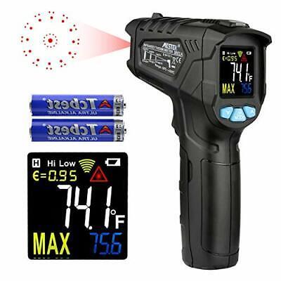 Infrared Thermometer Temperature Gun Mestek Non-laser Digital Thermometers Wi...
