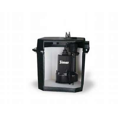 Simer Self Contained Above Floor Under Sink Laundry Sink Sump Pump For Parts