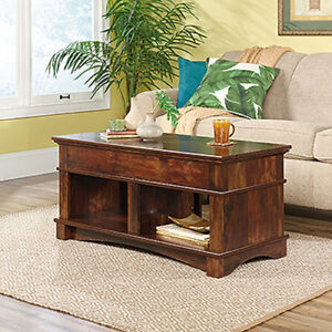 Lift Top Coffee Table- Curado Cherry Finish (Scratch & Dent)