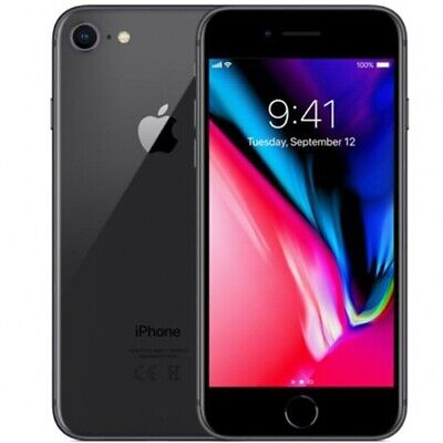 Apple iPhone 8 - 64GB - Space Gray (Sprint) A1863 - New