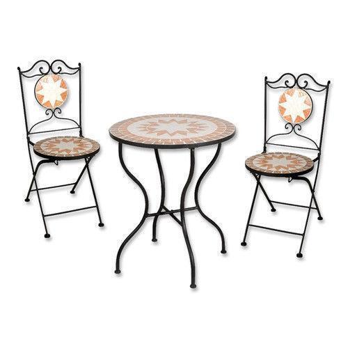mosaik sitzgruppe ebay. Black Bedroom Furniture Sets. Home Design Ideas