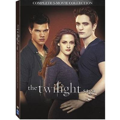 The Twilight Saga Complete 5 Movie Collection  Dvd 2016 2 Disc Set   Fast Ship