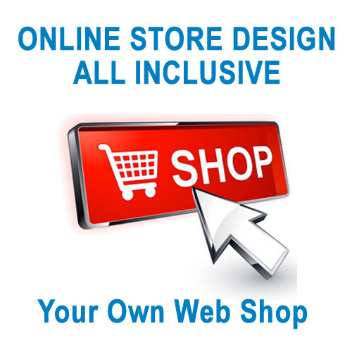 E-SHOP | YOUR OWN ONLINE STORE - ECOMMERCE WEBSITE DESIGN | ALL INCLUSIVE