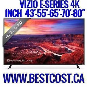 TÉLÉVISION TV VIZIO SÉRIE-E E43-E55-E65-E70-E80 4K ULTRA HDR