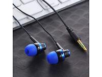 3.5mm In-Ear Stereo Earphones Braided Wire