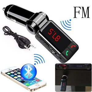 Bluetooth Car Kit MP3 FM Transmitter SD USB Car Charger