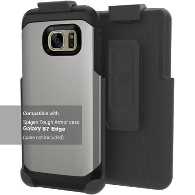Belt Clip Holster for Spigen Tough Armor - Galaxy S7 Edge