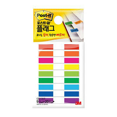 3m Post-it Flag 1 Pack 180 Sheets Bookmark Point Sticky Note - 683-9kp-