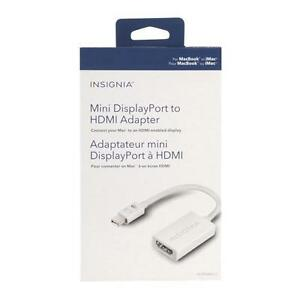 Insignia™ - Mini DisplayPort-to-HDMI /VGA ou /DVI  ou DisplayPort to hdmi /DVI /VGA