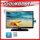 Black LCD TVs with Built - In DVD Player