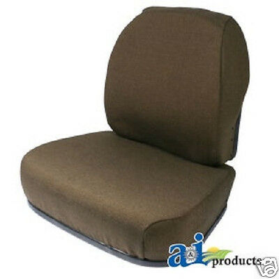 Brown Fabric Seat Cushion Set John Deere 7600 7700 7800 Farm Tractors Gz