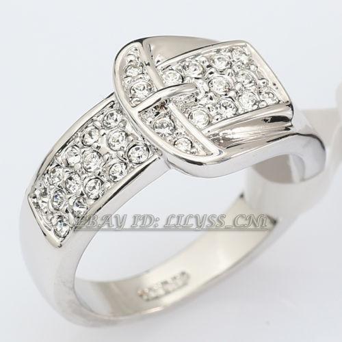 Gold Belt Buckle Ring