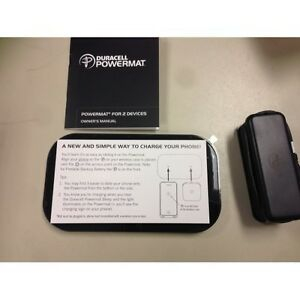 Duracell Powermat wireless charger for 2 devices
