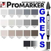 Grey Permanent Pen