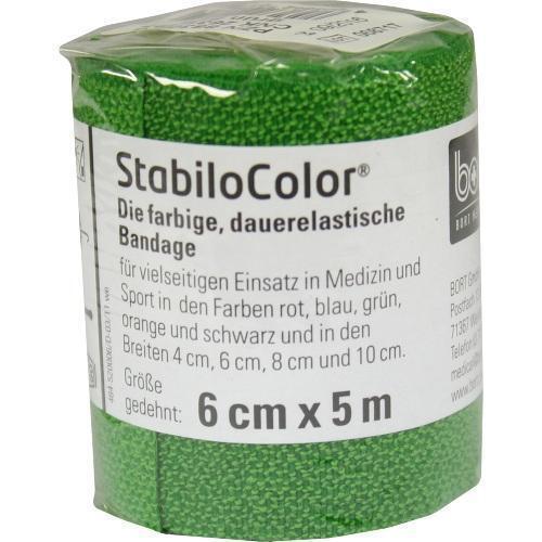 BORT StabiloColor Binde 6cm grün 1 St