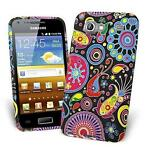 Silicone hoesje fashion Samsung Advance i9070