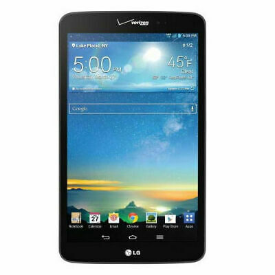 LG G Pad 8.3 4G LTE Tablet | Verizon | 16GB | 8.3in | Android | Black | VK810