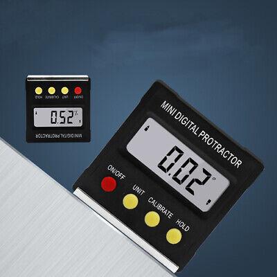 Lcd Digital Protractor Bevel Angle Magnetic Gauge Level Meter Inclinometer 490