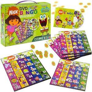 Nickelodeon DVD Bingo Game and Carrying Case