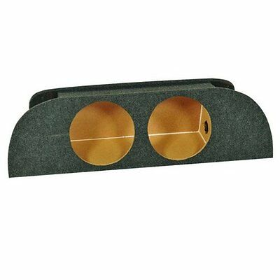 Q Power NISSAN10 350Z Dual 10-Inch Custom Speaker Box for Nissan 350z 2003-2007 10 Inch Dual Speaker Box
