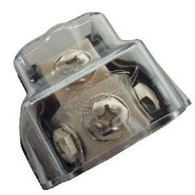 XScorpion Power Ground Distribution Block 0 2 4 8 Gauge - FOR ANY SIZE WIRE!