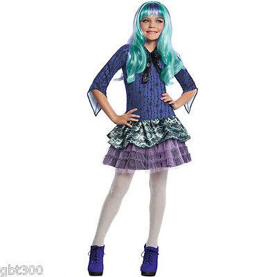 Monster High TWYLA Costume Child Girl Halloween 13 Wishes S M L - Halloween Costumes Monster High 13 Wishes