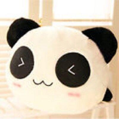 Kawaii Cute Emoji Panda Pet Dog Puppy Cat Squeaker Sound Toy Chew Dolls Play