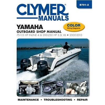 Yamaha 200-250hp 2000-2013 4-Stroke Outboard Motor Engine Repair Service (Outboard Engine Repair Manuals)
