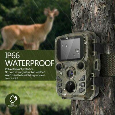 Mini300 HD1080P Hunting Trail Camera 16MP IR Wildlife Scouting Night Vision