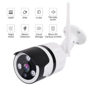 WiFi Security Camera Remote Access Smart Phone Iphone Galaxy