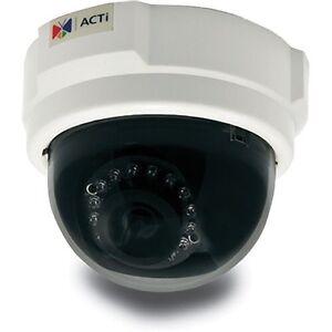 ACTi E53 3 MP Indoor Day & Night Dome Camera with IR Illuminator