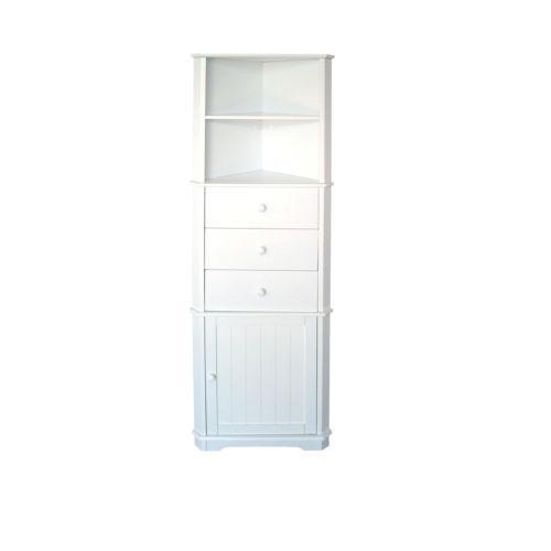 white corner display unit ebay. Black Bedroom Furniture Sets. Home Design Ideas